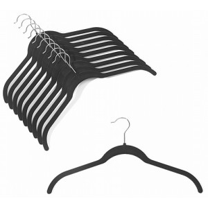 Slim-Line Black Shirt Hanger