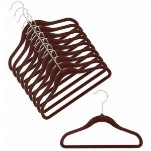 Childrens Slim-Line Chocolate Brown Hanger