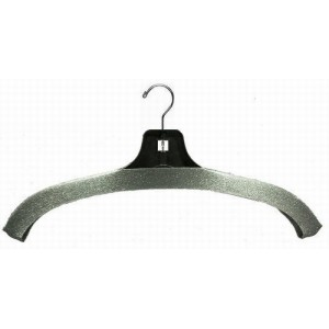 Charcoal Foam Hanger Covers