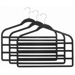 Slim-Line Black Multi Pant Hanger