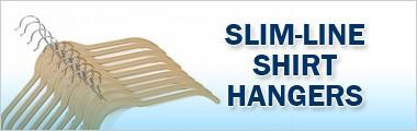 Slim-Line Shirt Hangers